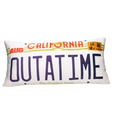 BACK TO THE FUTURE OUTATIME CUSHION PILLOW CUSCINO