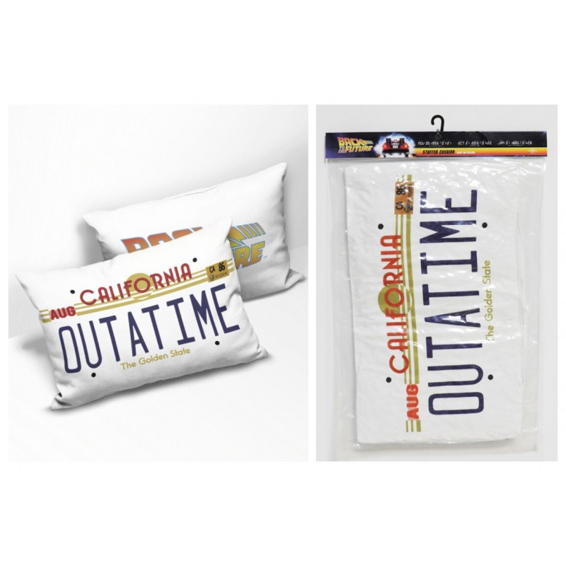 BACK TO THE FUTURE OUTATIME CUSHION PILLOW CUSCINO SD TOYS