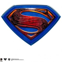 SUPERMAN LOGO PLACCA DA MURO IN RESINA NOBLE COLLECTIONS