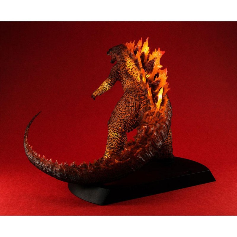 MEGAHOUSE GODZILLA 2 KING OF MONSTERS BURNING GODZILLA STATUE FIGURE