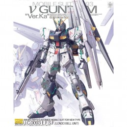 MASTER GRADE MG GUNDAM NU VER. KA 1/100 MODEL KIT FIGURE BANDAI
