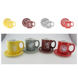 SD TOYS GAME OF THRONES ESPRESSO SET MUGS TAZZE