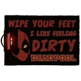 MARVEL DIRTY DEADPOOL DOORMAT ZERBINO TAPPETINO PYRAMID INTERNATIONAL