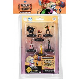 WIZKIDS HARLEY QUINN AND THE GOTHAM GIRL HEROCLIX FAST FORCES MINIATURES