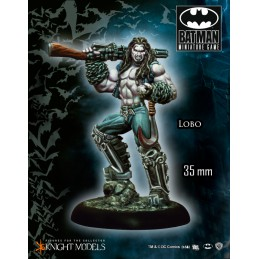 BATMAN MINIATURE GAME - LOBO MINI RESIN STATUE FIGURE KNIGHT MODELS