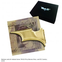 NOBLE COLLECTIONS BATMAN BATARANG MONEY CLIP FERMASOLDI METAL