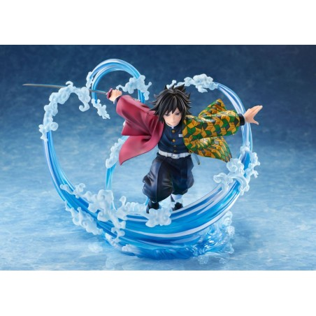 DEMON SLAYER GIYU TOMIOKA STATUE FIGURE
