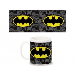 BATMAN LOGO COMICS CERAMIC MUG TAZZA IN CERAMICA PYRAMID INTERNATIONAL