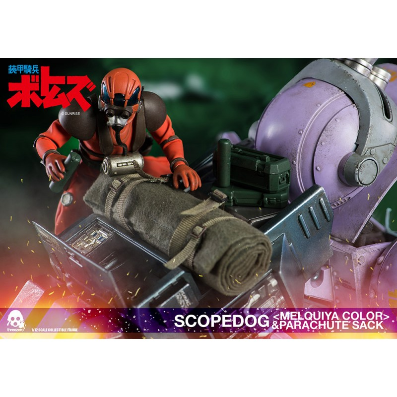THREEZERO ARMORED TROOPERS VOTOMS SCOPEDOG MELQUIYA COLOR ACTION FIGURE