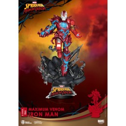 BEAST KINGDOM D-STAGE MAXIMUM VENOM IRON MAN STATUE FIGURE DIORAMA