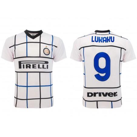MAGLIA CALCIO AWAY UFFICIALE FC INTERNAZIONALE 2020 2021 LUKAKU