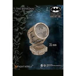 BATMAN MINIATURE GAME - THE BATSIGNAL MINI RESIN STATUE FIGURE KNIGHT MODELS