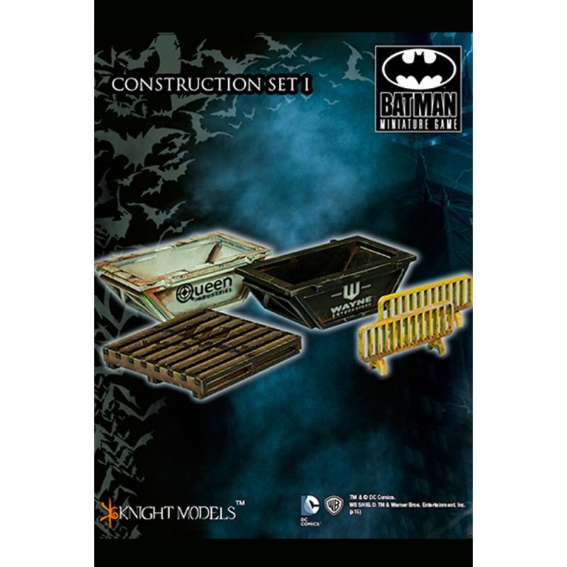 KNIGHT MODELS BATMAN MINIATURE GAME - CONSTRUCTION SET 1 SCENARY MINI RESIN STATUE FIGURE