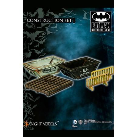 BATMAN MINIATURE GAME - CONSTRUCTION SET 1 SCENARY MINI RESIN STATUE FIGURE