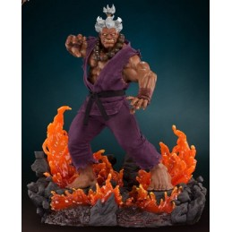 STREET FIGHTER SHIN AKUMA EXCLUSIVE 1/4 58CM STATUA FIGURE POP CULTURE SHOCK COLLECTIBLES