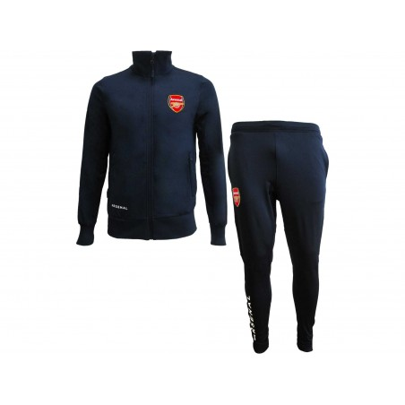 TUTA TRACKSUIT UFFICIALE ARSENAL FC BLUE NAVY