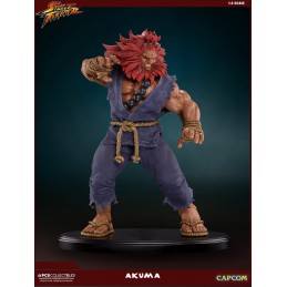 POP CULTURE SHOCK COLLECTIBLES STREET FIGHTER AKUMA 10TH ANNIVERSARY 45CM STATUE FIGURE