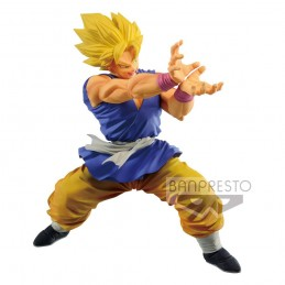 DRAGON BALL GT SUPER SAIYAN SON GOKU 15CM STATUA FIGURE BANPRESTO