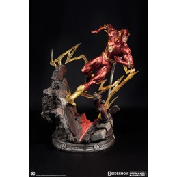 JUSTICE LEAGUE THE NEW 52 THE FLASH STATUA FIGURE SIDESHOW