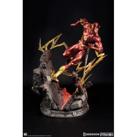 JUSTICE LEAGUE THE NEW 52 THE FLASH STATUE FIGURE