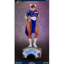 POP CULTURE SHOCK COLLECTIBLES STREET FIGHTER CHUN-LI CLASSIC QIPAO 73CM STATUE FIGURE