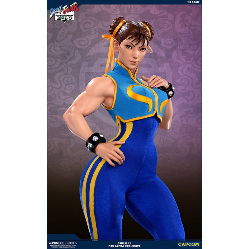 STREET FIGHTER CHUN-LI ALPHA 73CM STATUA FIGURE POP CULTURE SHOCK COLLECTIBLES
