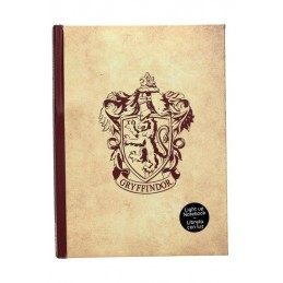 SD TOYS HARRY POTTER GRYFFINDOR NOTEBOOK DIARIO WITH LIGHT