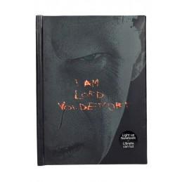 HARRY POTTER LORD VOLDEMORT NOTEBOOK DIARIO CON LUCE SD TOYS