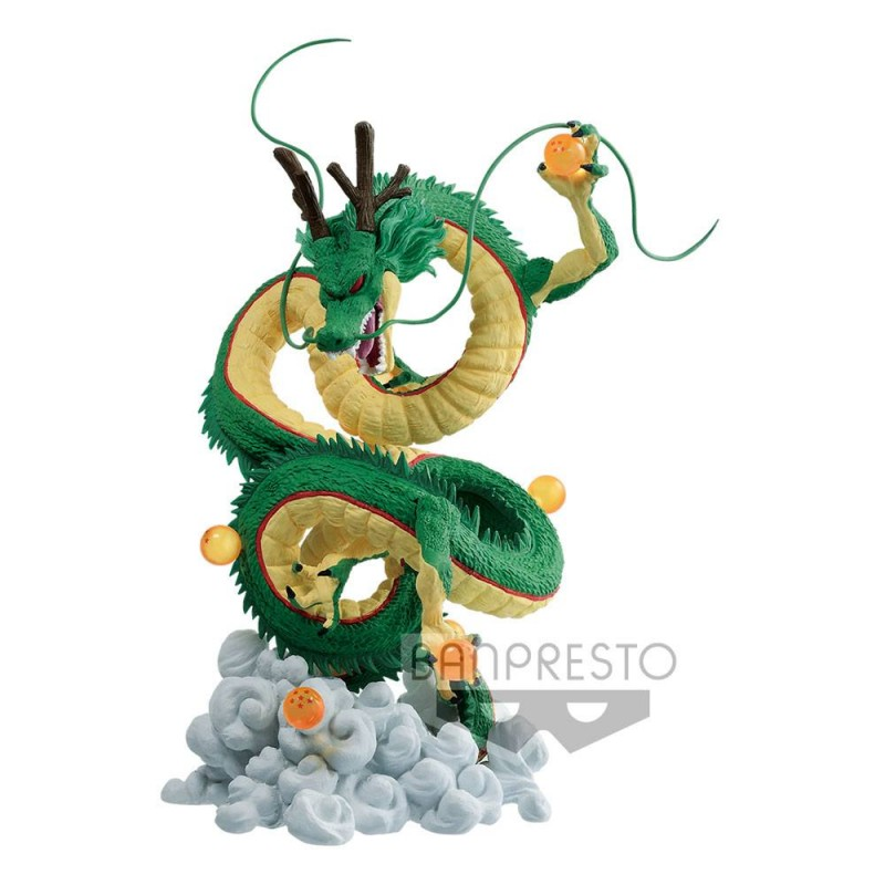 BANPRESTO DRAGON BALL Z SHENRON AND DRAGON BALLS STATUE FIGURE