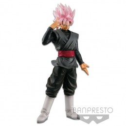 DRAGON BALL SUPER SAIYAN ROSE BLACK GOKU STATUA FIGURE BANPRESTO