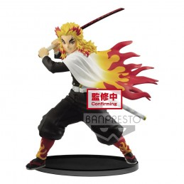 BANPRESTO DEMON SLAYER KYOJURO RENGOKU VIBRATION STARS STATUE FIGURE
