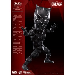 CIVIL WAR BLACK PANTHER EGG ATTACK ACTION FIGURE BEAST KINGDOM