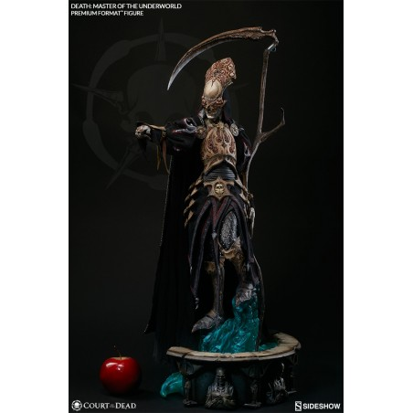 DEATH MASTER OF THE UNDERWORLD PREMIUM FORMAT STATUE FIGURE