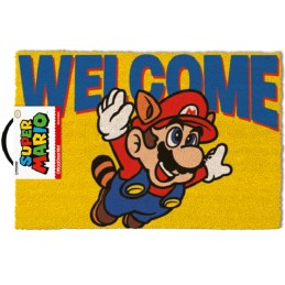 SUPER MARIO WELCOME DOORMAT ZERBINO TAPPETINO PYRAMID INTERNATIONAL