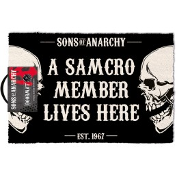 SONS OF ANARCHY DOORMAT ZERBINO TAPPETINO PYRAMID INTERNATIONAL