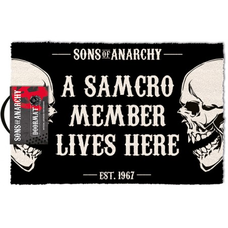 SONS OF ANARCHY DOORMAT ZERBINO TAPPETINO