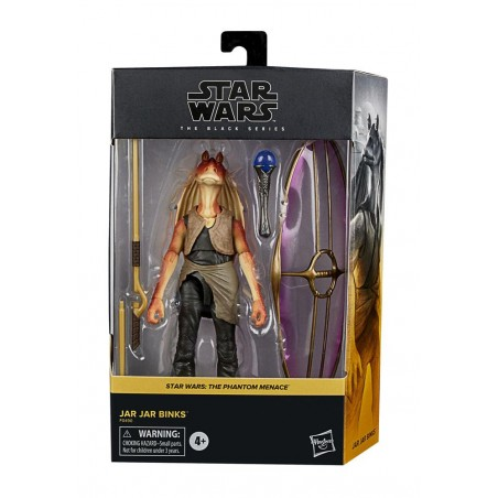 STAR WARS THE BLACK SERIES DELUXE JAR JAR BINKS ACTION FIGURE
