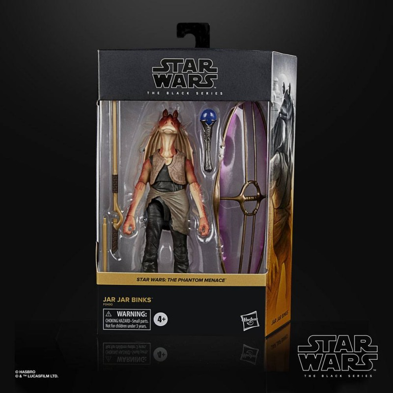 STAR WARS THE BLACK SERIES DELUXE JAR JAR BINKS ACTION FIGURE HASBRO