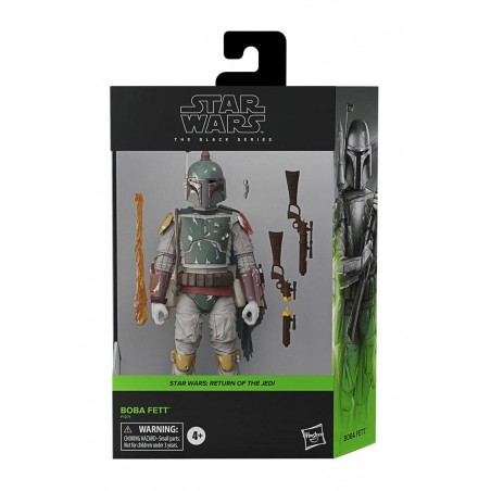 STAR WARS THE BLACK SERIES DELUXE BOBA FETT ACTION FIGURE