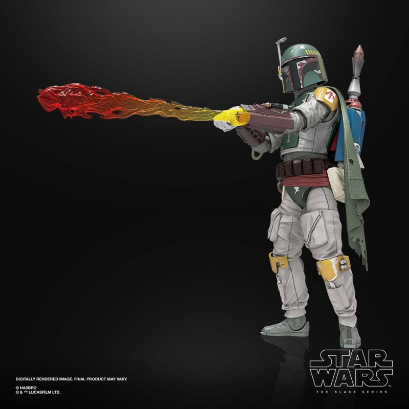 STAR WARS THE BLACK SERIES DELUXE BOBA FETT ACTION FIGURE HASBRO