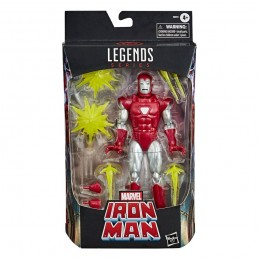 MARVEL LEGENDS IRON MAN SILVER CENTURION ACTION FIGURE HASBRO