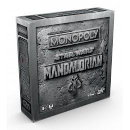 HASBRO MONOPOLY STAR WARS THE MANDALORIAN TABLE GAME ENGLISH