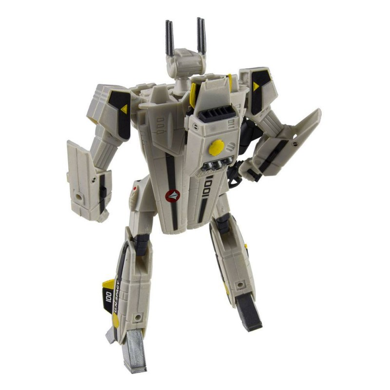 MACROSS RETRO TRANSFORMABLE COLLECTION VF-1J FOCKER VALKYRIE ACTION FIGURE TOYNAMI