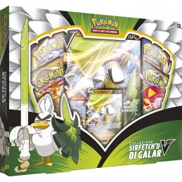 POKEMON COLLEZIONE SIRFETCH'D DI GALAR BOX IN ITALIANO THE POKEMON COMPANY INTERNATIONAL