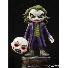 BATMAN THE DARK KNIGHT THE JOKER MINICO FIGURE STATUA IRON STUDIOS