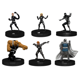 MARVEL HEROCLIX FANTASTIC FOUR FUTURE FOUNDATION FAST FORCES WIZKIDS