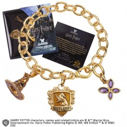 HARRY POTTER TASSOROSSO BRACCIALETTO IN METALLO NOBLE COLLECTIONS