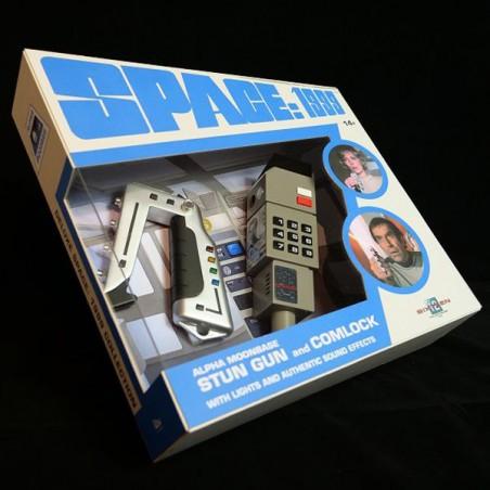 SPACE SPAZIO 1999 STUN GUN AND COMLOCK REPLICA