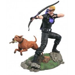 MARVEL GALLERY HAWKEYE OCCHIO DI FALCO FIGURE STATUA DIAMOND SELECT