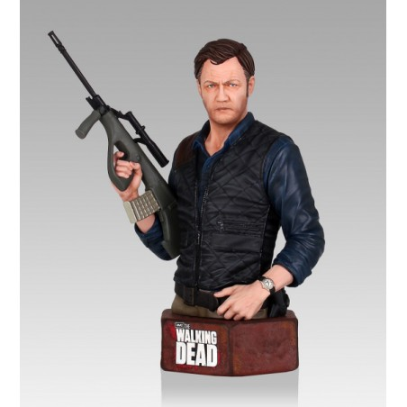 THE WALKING DEAD THE GOVERNOR BUST STATUE